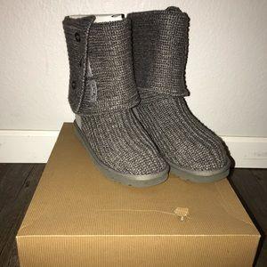 Ugg Classic Cardy grey knit size 7